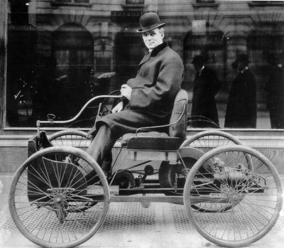Quadriciclo de Ford. Fonte: